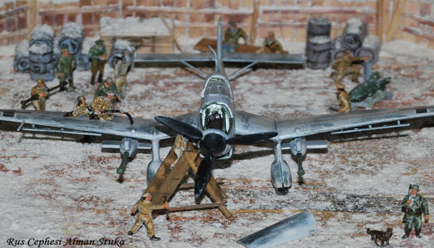 Rus Cephesi Alman Stuka